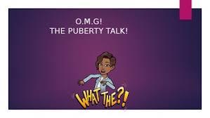 puberty talk