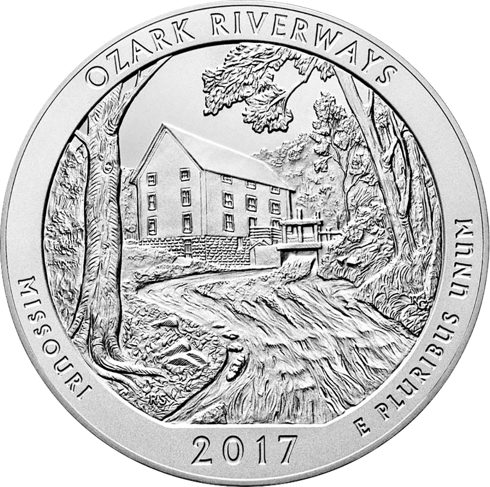ozark national scenic riverways 5 oz silver uncirculated coins now Fall Protection Storage ozark national scenic riverways 5 oz silver uncirculated coins now available mint news blog