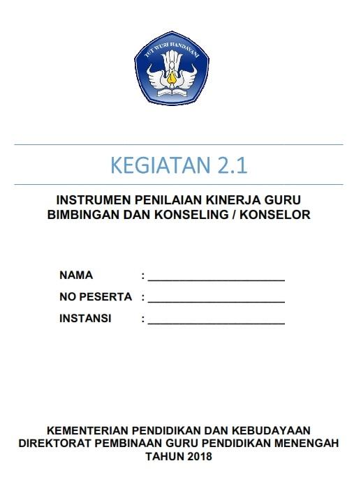 Instrumen Pkg 2019 : instrumen, Instrumen, Aplikasi, Terbaru, BIMBINGAN, KONSELING