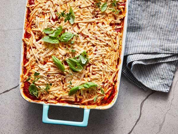 zucchini vegan lasagna