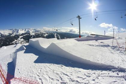 Snowparks of the Portes du Soleil