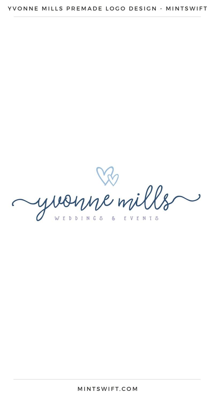 Yvonne Mills Premade Logo