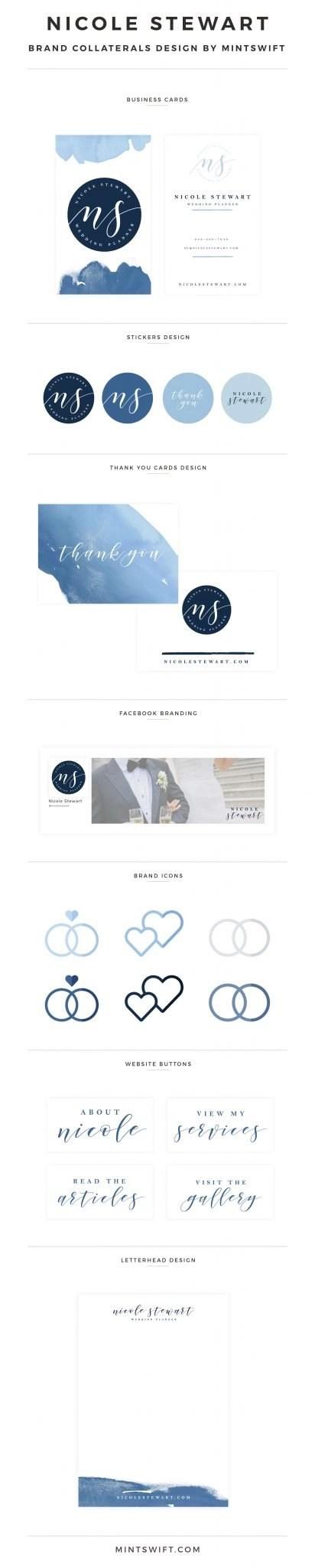 Nicole Stewart - Brand Collaterals Design by MintSwift
