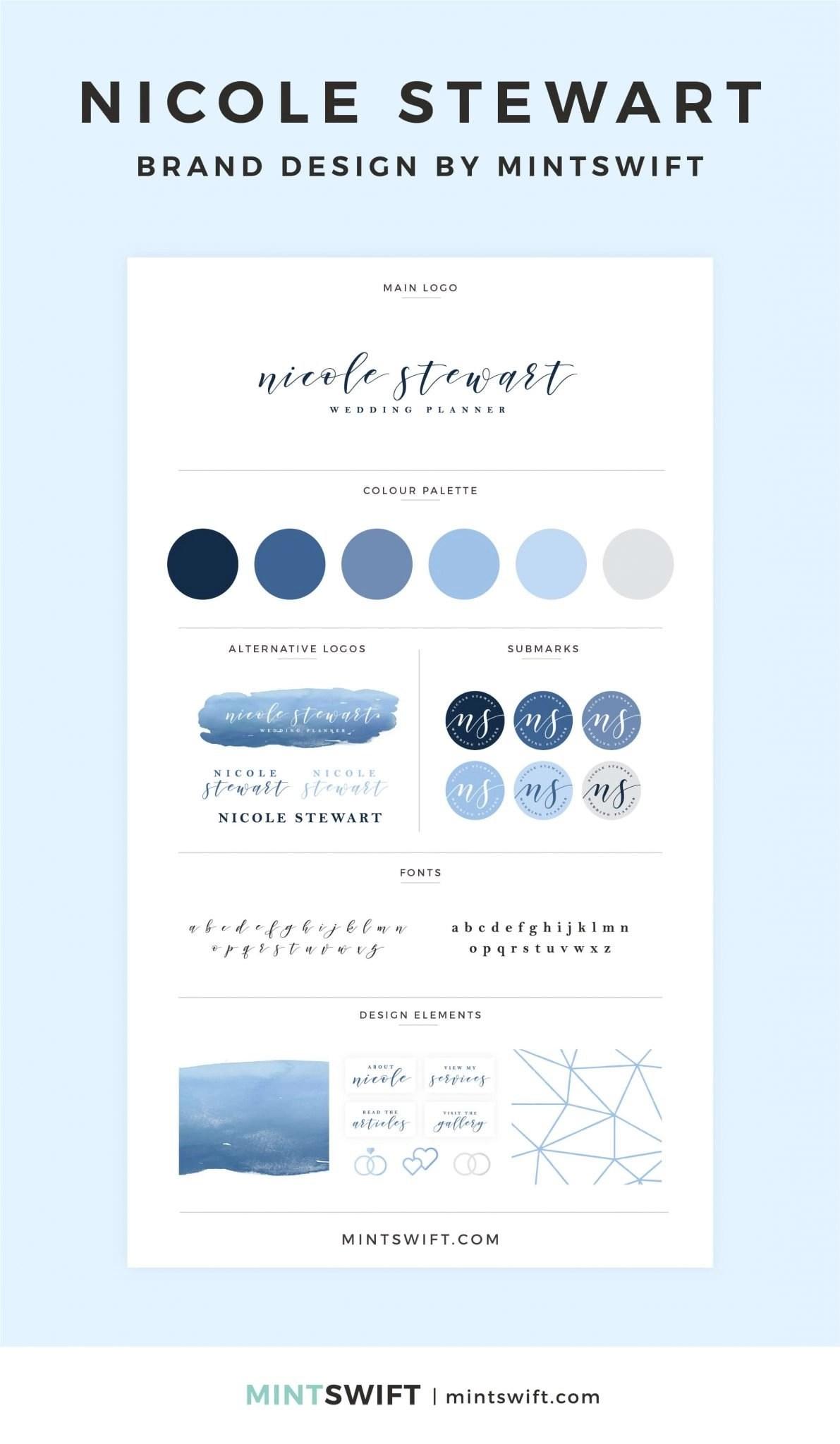 Nicole Stewart - Brand Design - MintSwift - Adrianna Leszczynska