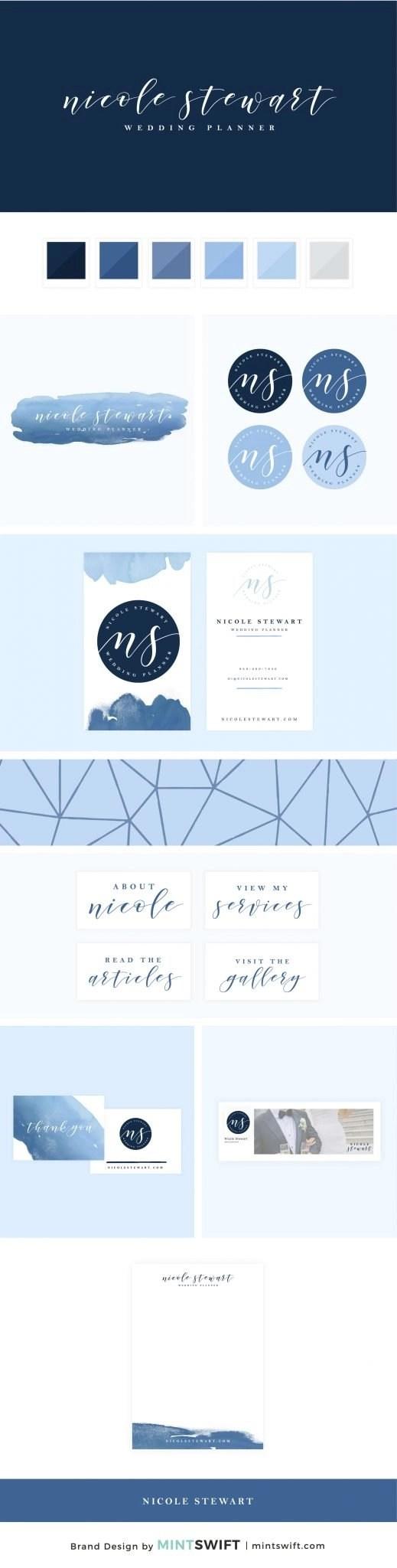 Nicole Stewart - Brand Design Package - MintSwift