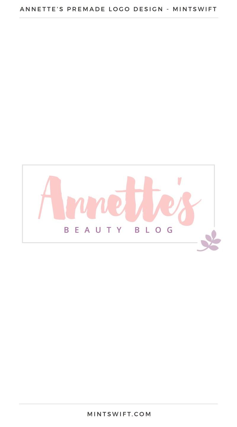 Annette's Premade Logo – MintSwift