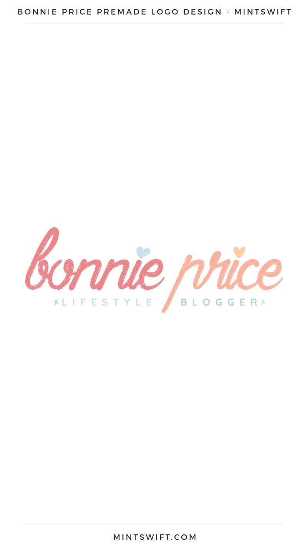 Bonnie Price Premade Logo – MintSwift