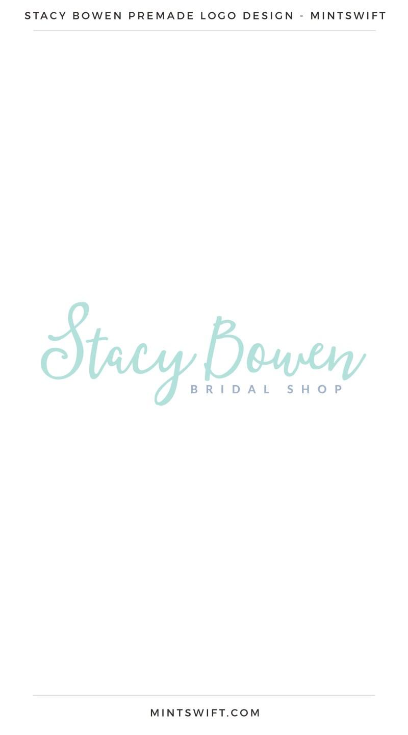 Stacy Bowen Premade Logo – MintSwift