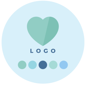 Step 4 - Logo Design + Colour Palette - Brand Design Package Process - MintSwift