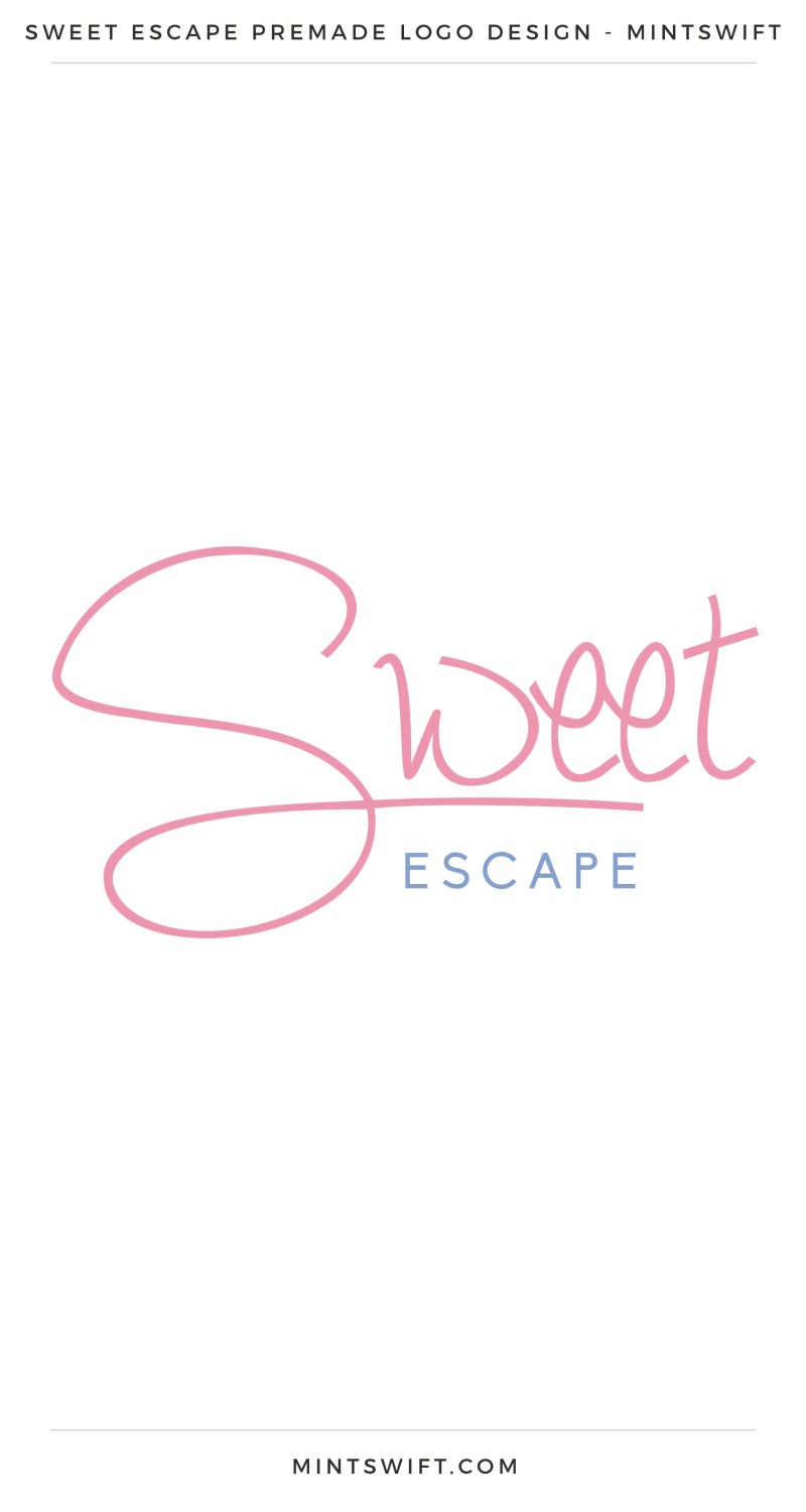 Sweet Escape Premade Logo