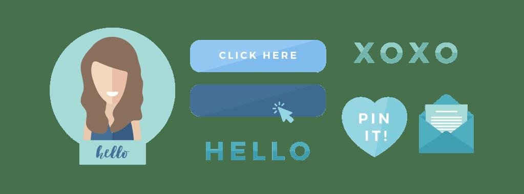 Website elements design - Brand & Website Design Package - Process & Deliverables.- MintSwift