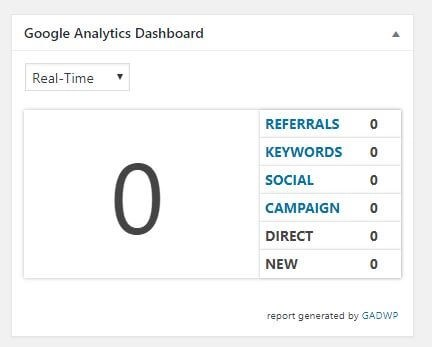How to see Google Analytics dashboard directly on your WordPress site - How to Add Google Analytics to WordPress – MintSwift