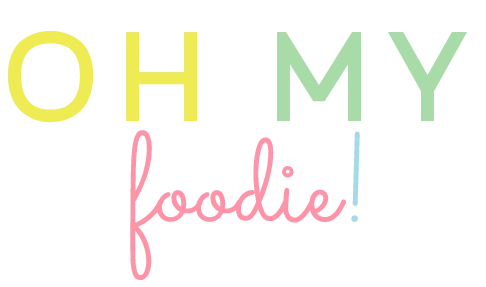 Oh My Foodie - Alternative logo - MintSwift