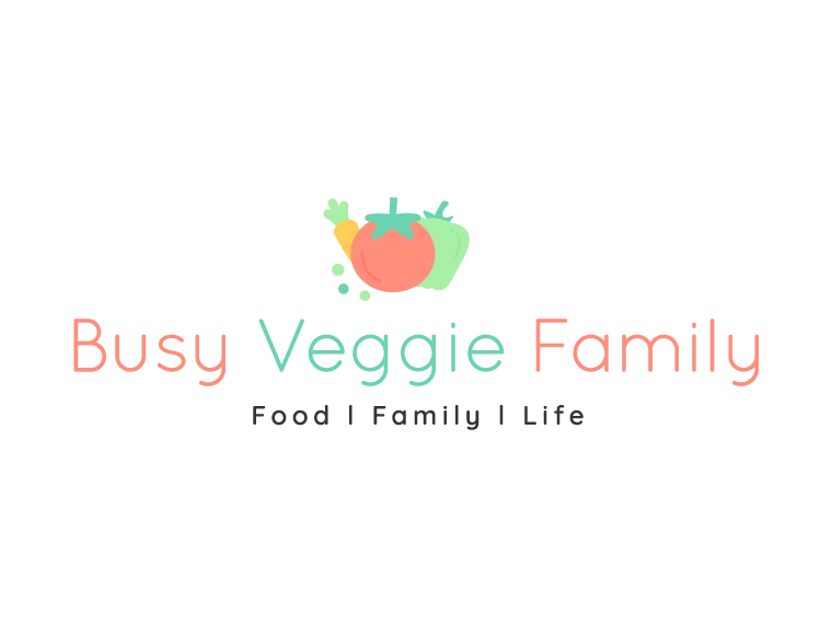 Busy Veggie Family -Brand & Website Design - MintSwift