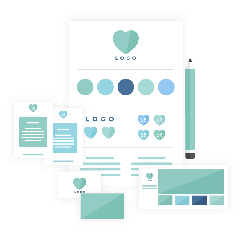 Brand design package icon - MintSwift