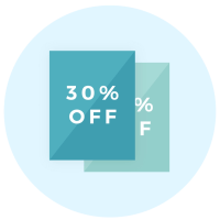 Coupon icon - Brand collaterals - MintSwift