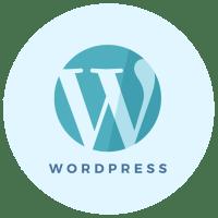 WordPress installation icon - Brand & Website Design package - MintSwift