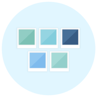 Colour Palette Icon - Brand Board Elements - MintSwift