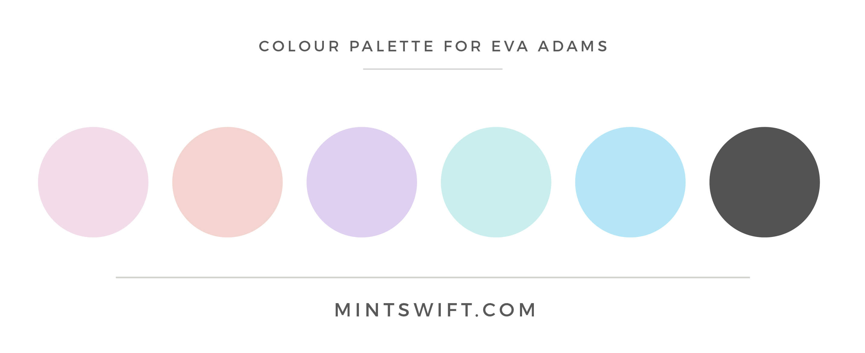 Eva Adams - Colour Palette - MintSwift