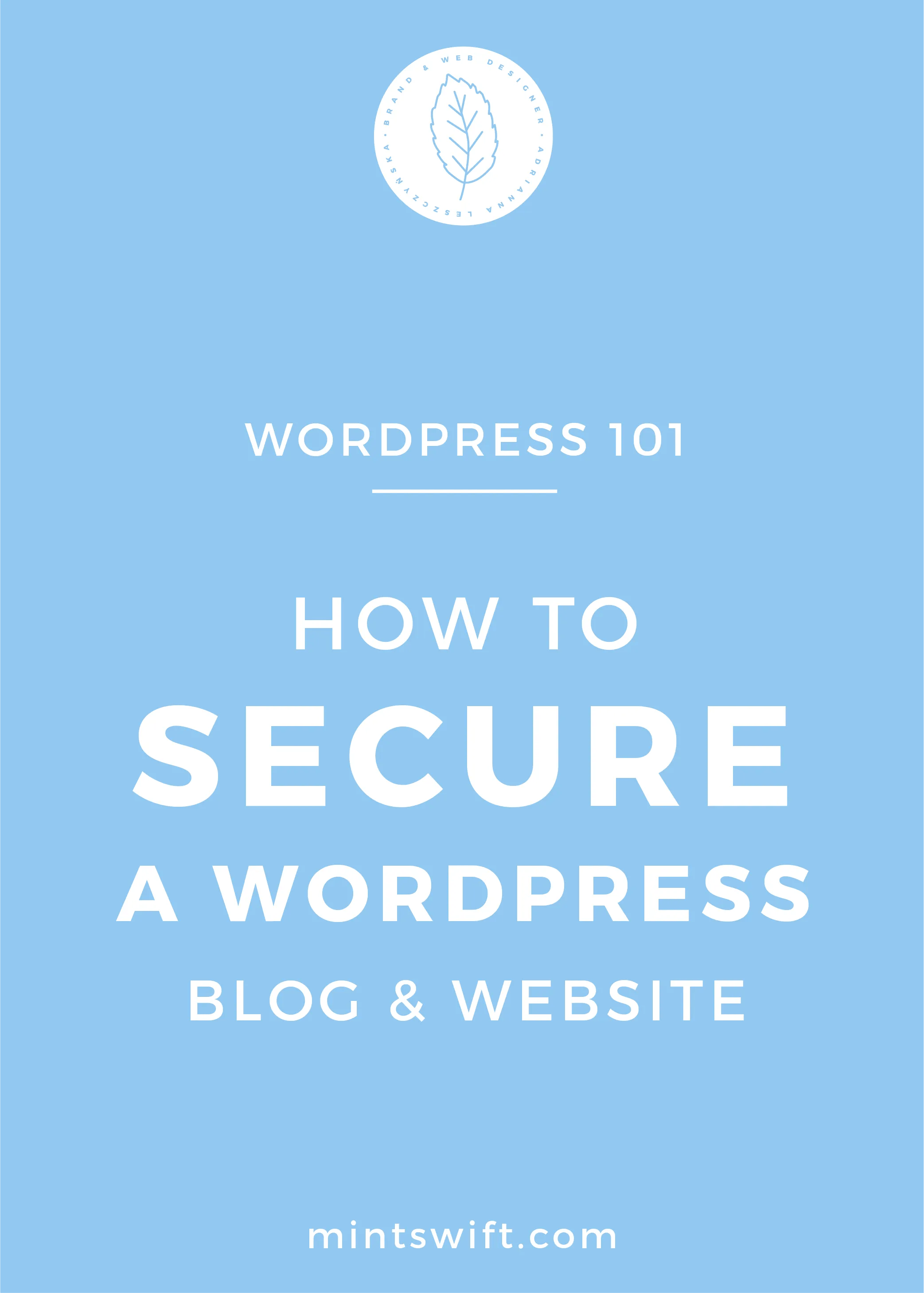 How to Secure WordPress Blog & Website - MintSwift