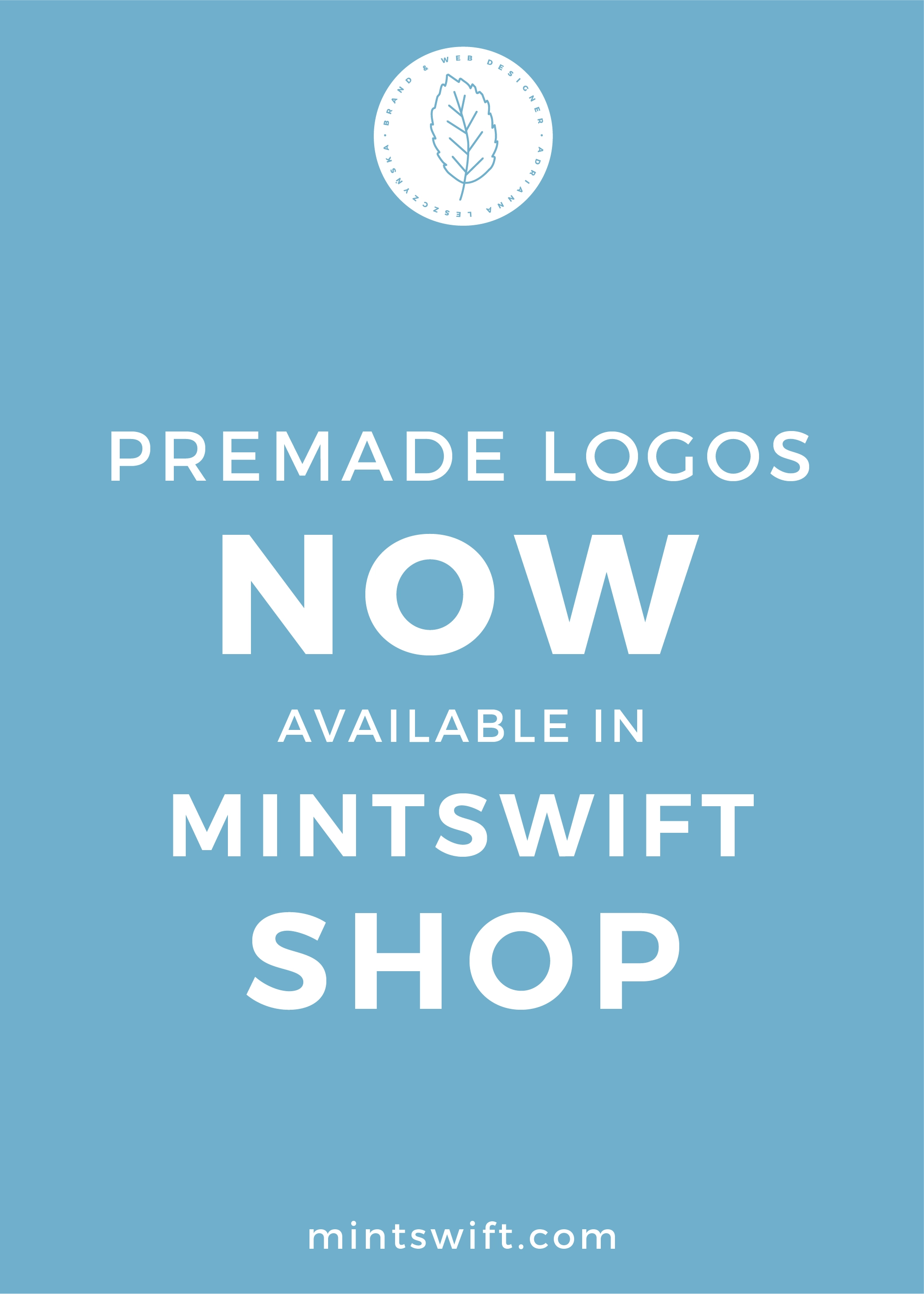 Premade Logos Now Available in MintSwift Shop - MintSwift