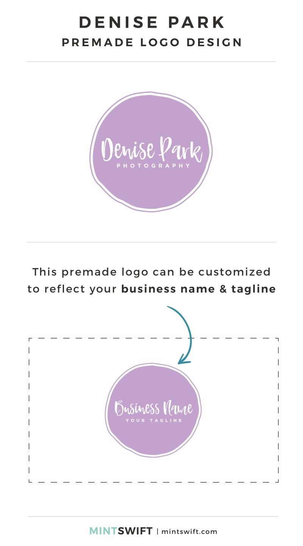 Denise Park Premade Logo