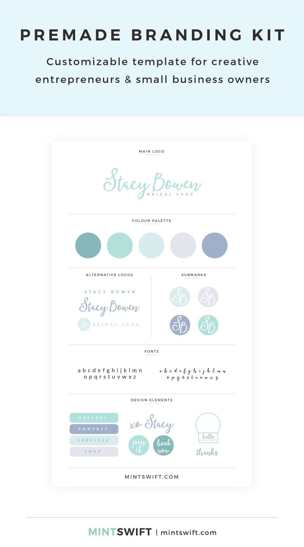 Stacy Bowen Premade Branding Kit
