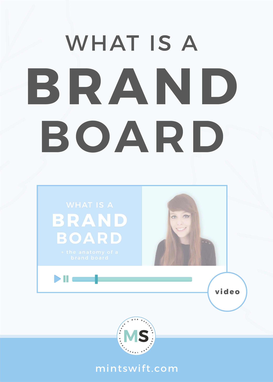 What is a Brand Board - MintSwift
