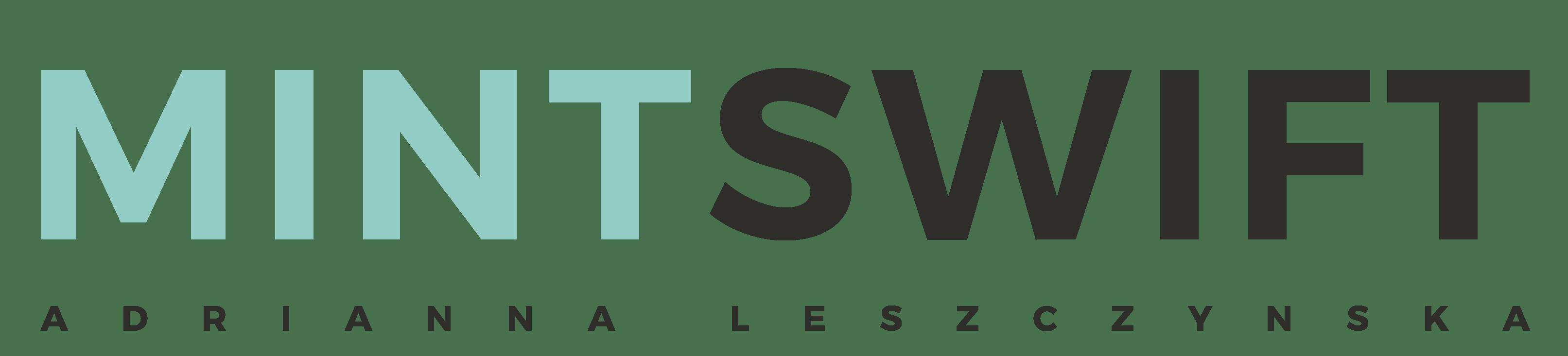 MintSwift - Adrianna Leszczynska - Logo