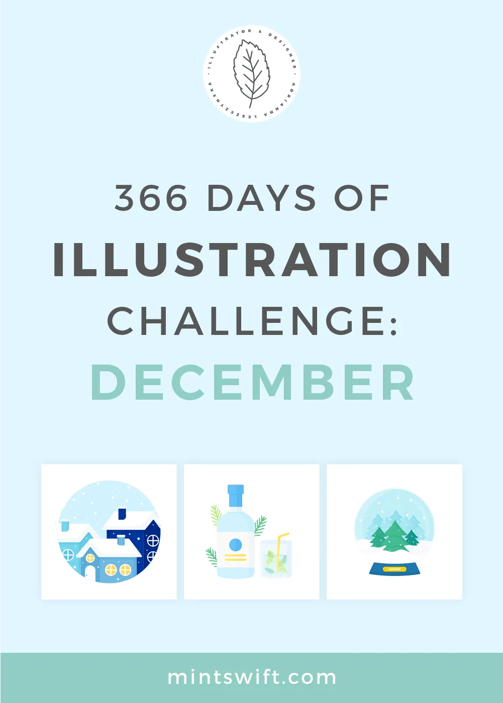 366 Days of Illustration Challenge – December