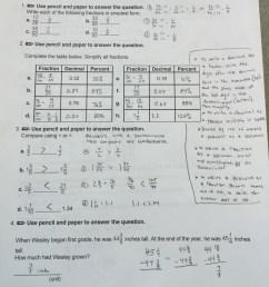 6th Grade Ch. 4 Review Sheet ANSWERS Mr. Minturns Math Universe [ 3000 x 2250 Pixel ]