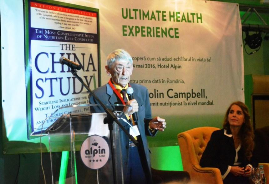 Oviidu Bojor la Conferinta Colin Campbell