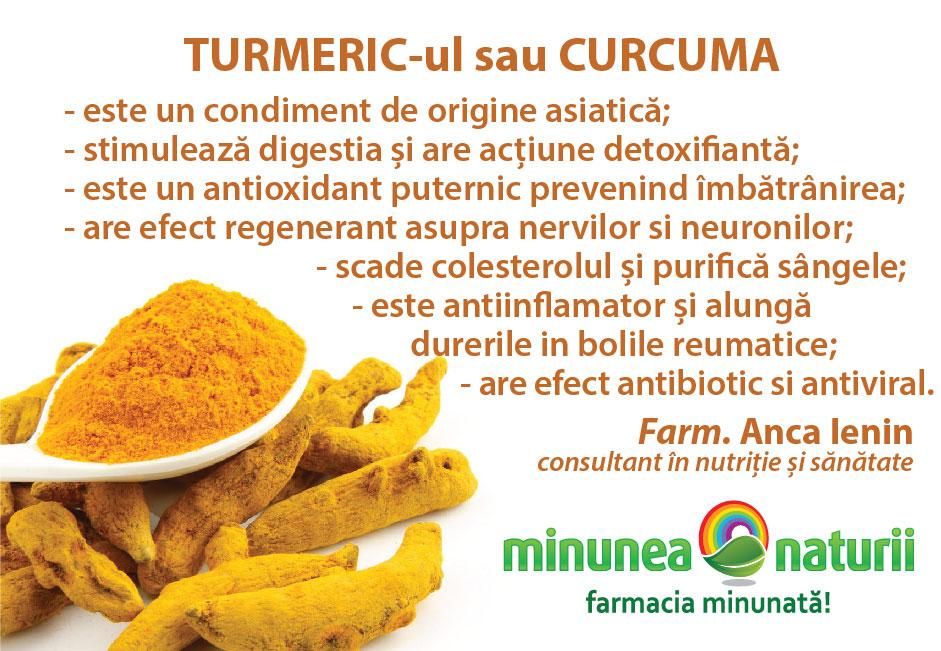 Care sunt beneficiile turmericului si cum sa il consum? - Blog