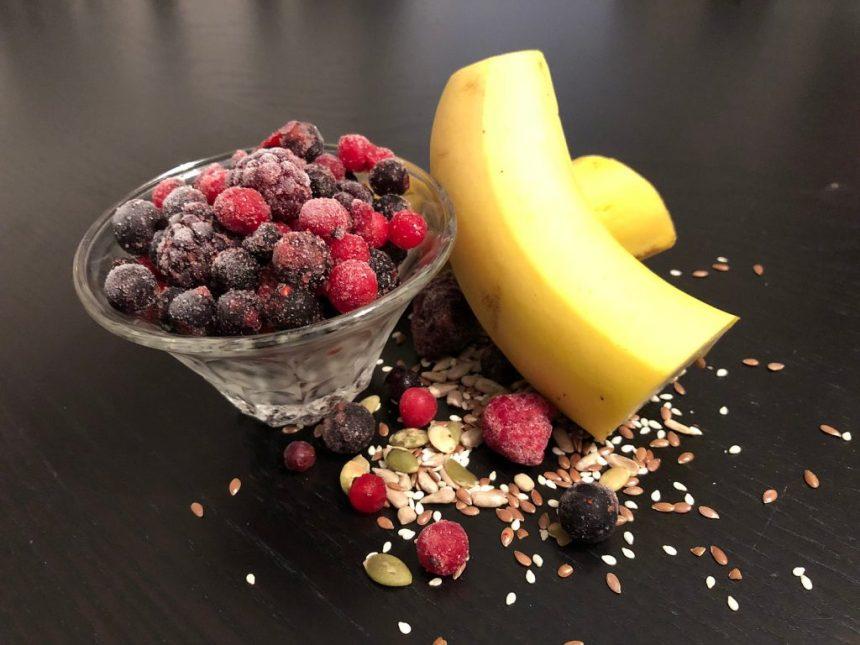 reteta cu fructe congelate