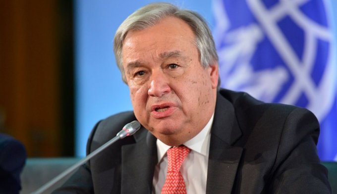 The Secretary General António Guterres' address to staff   MINURSO