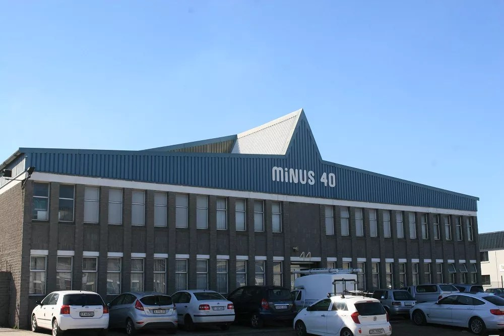 The Minus 40 offices in Cape Town