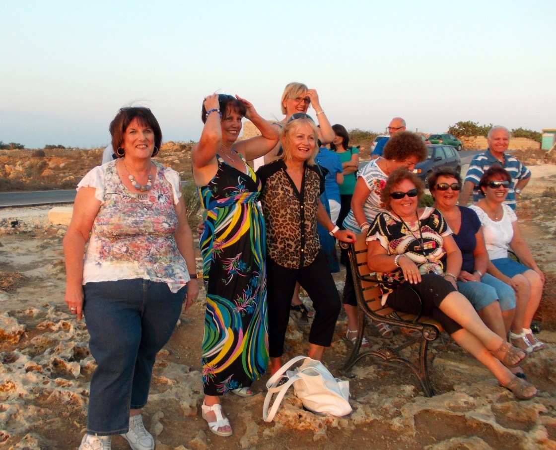 Outing at Dingli cliffs