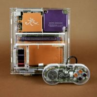 Appreciate the Substance Behind the Style with Rose Colored Gaming's Transparent SNES System