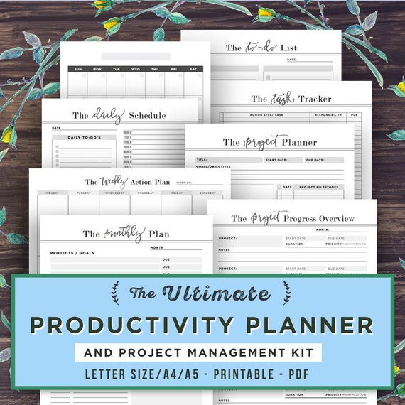 Etsy Productivity Planner