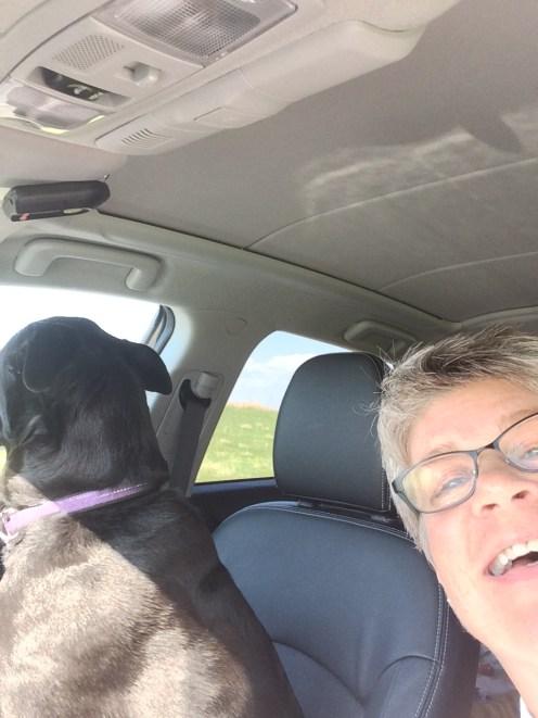 6.22.16 Nanette Buddy Road Trip Selfie