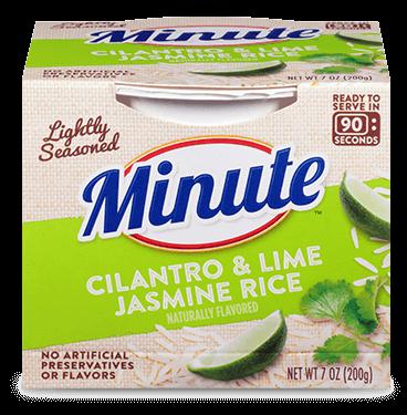 cilantro lime aromatic jasmine rice