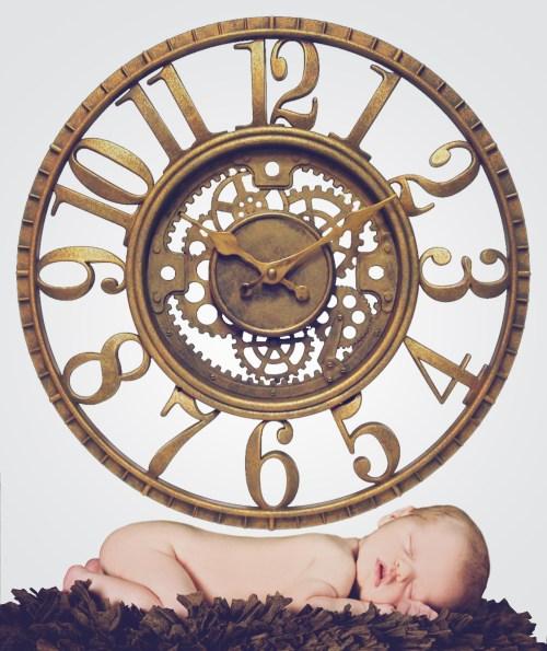 clock A-D