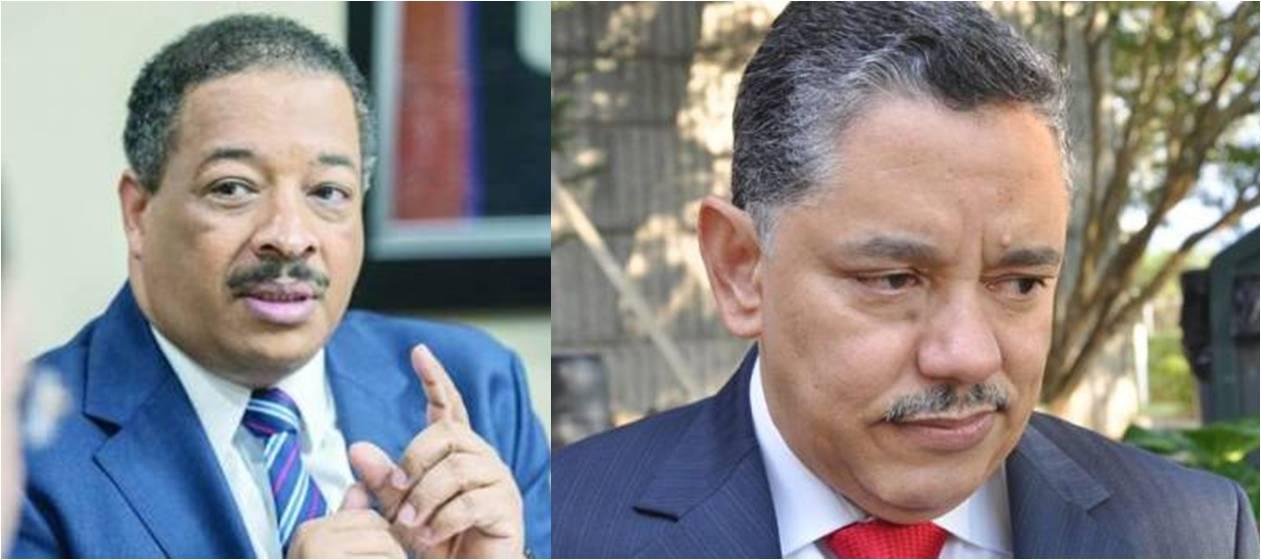 Roberto Rosario y José Ricardo Taveras