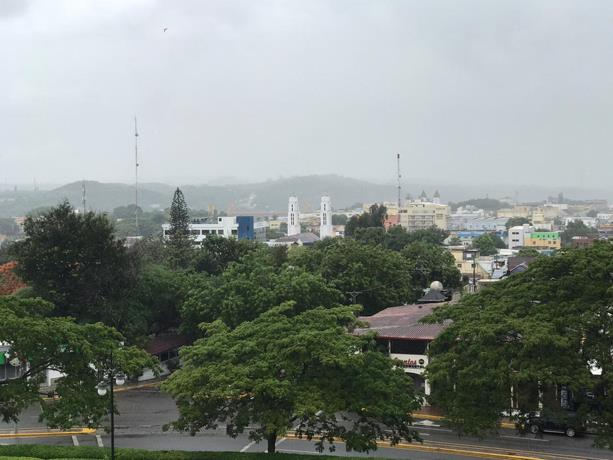 Santiago y el Cibao, bajo lluvias en primeras horas de la tormenta Isaías