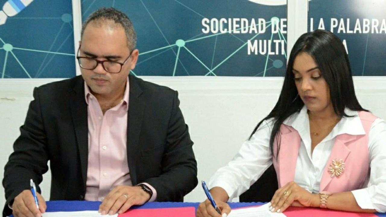 SNTP filial Santiago y Sociedad de la Palabra Multimedia firman acuerdo de  cooperación – Minuto A Minuto