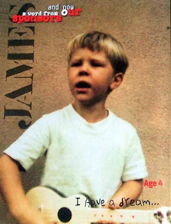 James Hetfield gravando o Kill 'em All :-)
