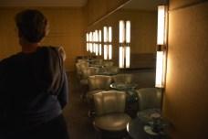 Sala que faz parte do banheiro feminino