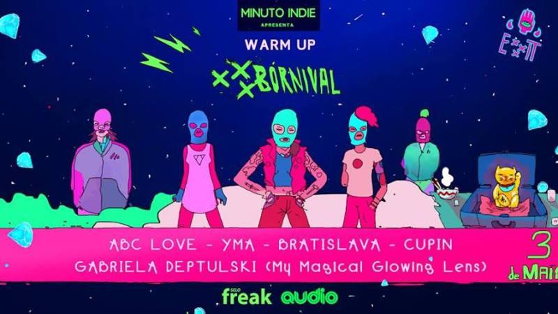 Warm-Up Festival XXXbórnival acontece na Audio com entrada gratuita!