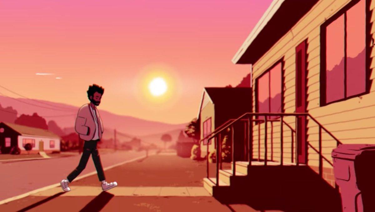 """O verão nos olhos de Childish Gambino no clipe de """"Feels Like Summer"""""""