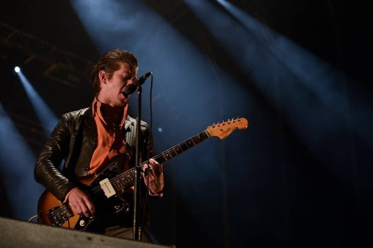 Cantor Alex Turner da banda Artic Monkeys